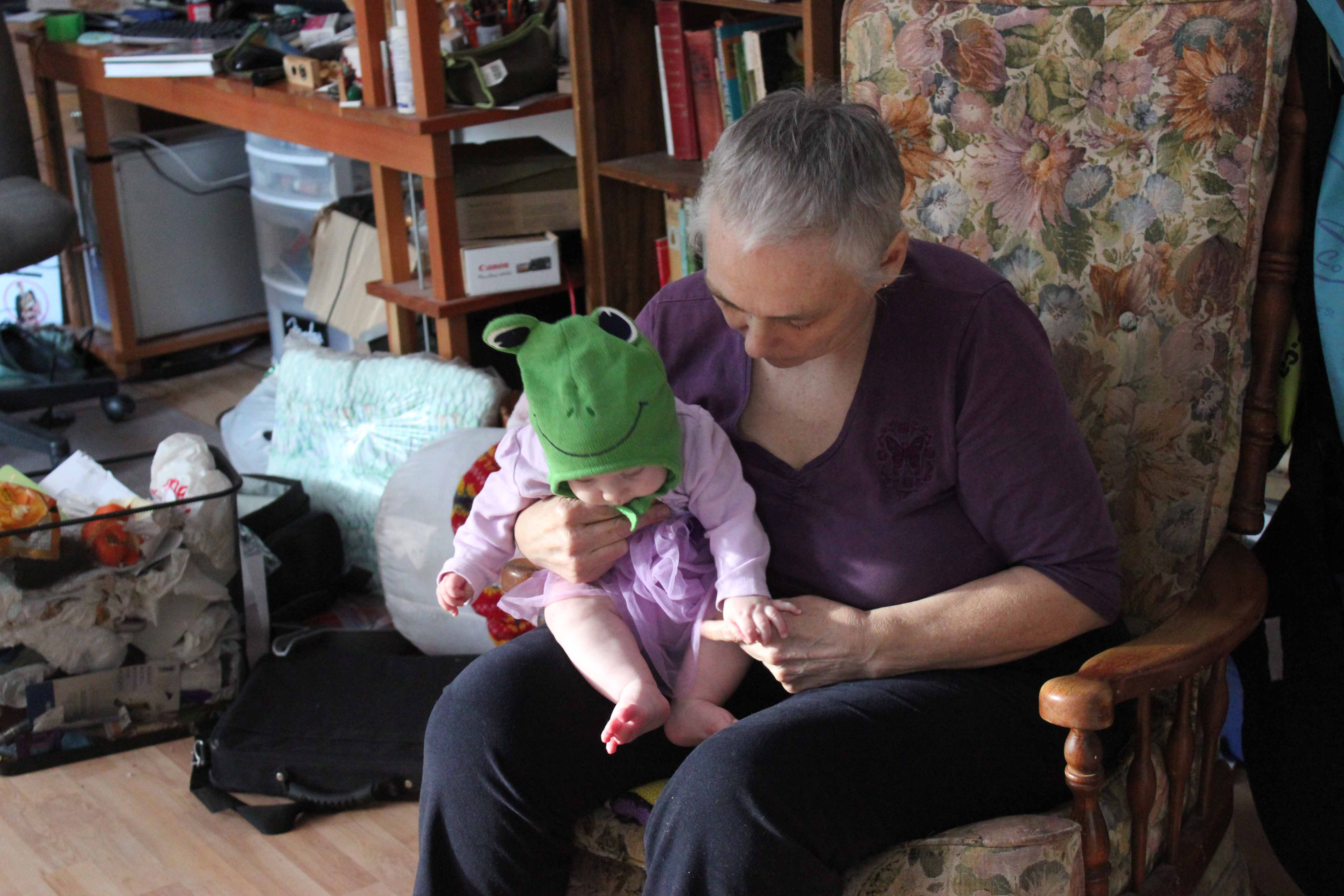 Emma and grandma Alice