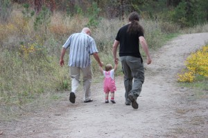 Pa, Daddy and Emma